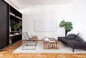 Un moderno PH en altura que parece una casa