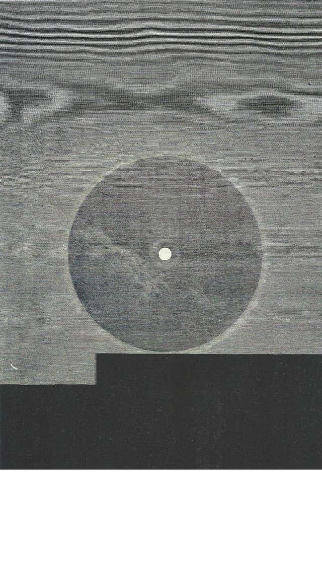 Roberto Aizenberg, Los nueves rayos brillantes de las protuberancias según la observación realizada el 18 de agosto de 1868 en Wha-Tonne por M.G.Rayet, 1963