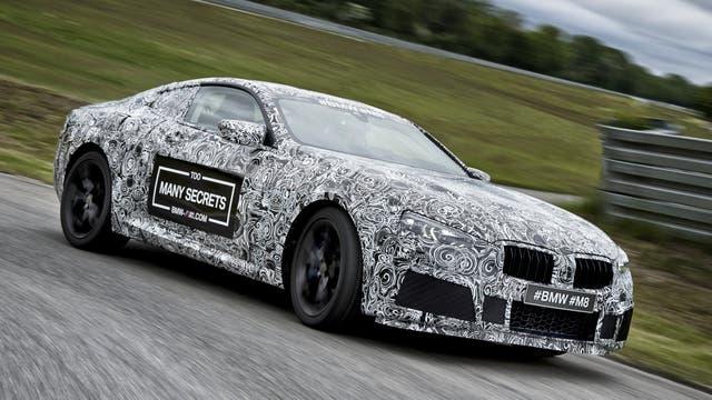 El BMW M8