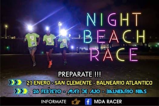 Night Beach Race con dos fechas: 21 de enero en San Clemente y el 26 de febrero en Mar de Ajó. Foto: LA NACION