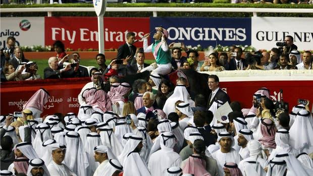 El Rey, entre Principes; Arrogate brilló en Dubai