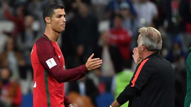 La decepción de Cristiano Rolando tras la eliminación de Portugal
