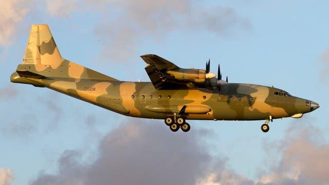 El avión de la Aviación Militar Bolivariana que llegó a Buenos Aires