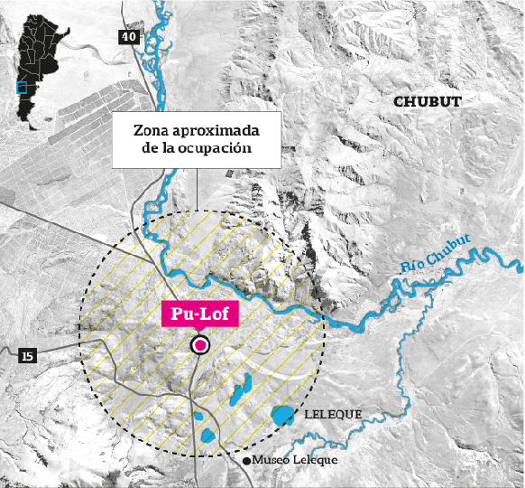 Comienzan los rastrillajes en el río Chubut en busca de pistas de Santiago Maldonado