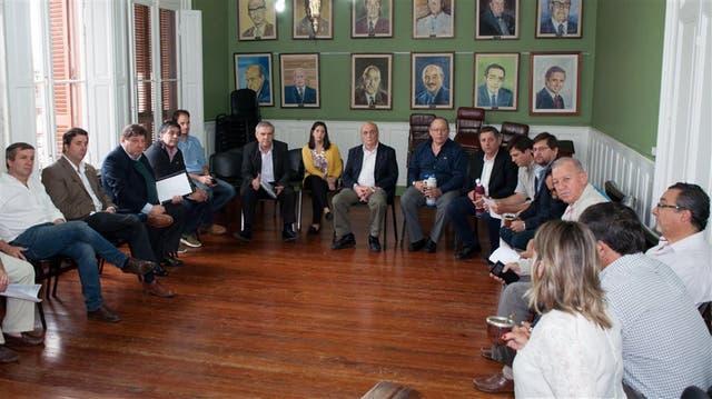 Legisladores entrerrianos se reunieron para debatir la situación de Rossi