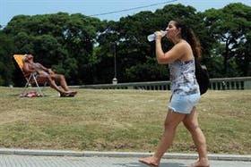 Calor en la ciudad: hasta el domingo se esperan temperaturas máximas de entre 33 y 35°