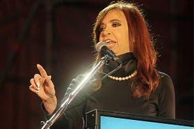 Cristina criticó a los rejuntes electorales