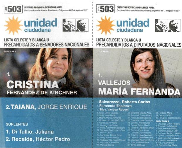 Las localidades donde faltan boletas de Unidad Ciudadana y de Cumplir — Escándalo