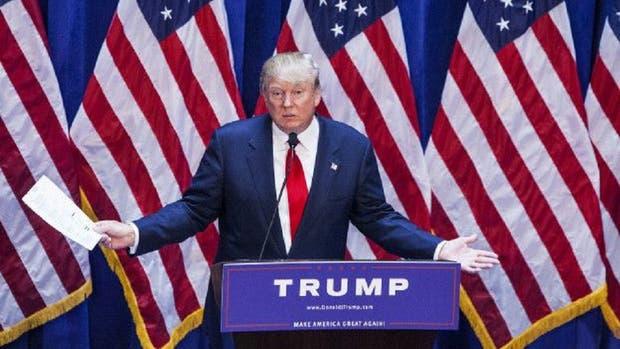 Donald Trump lanzó su campaña a la presidencia a mediados de 2015.