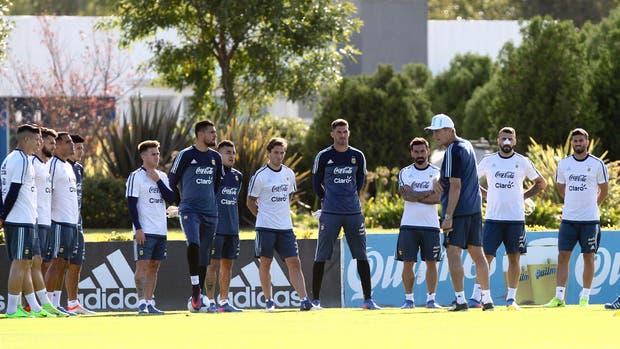 Argentina sin Messi, Mascherano y Di María