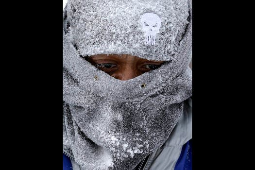 Las increíbles bajas temperaturas que azotan el noreste de los Estados Unidos no dan tregua. Foto: AP