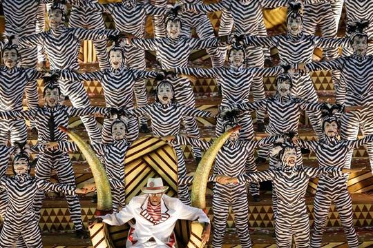 El costo de producción de las escuelas de samba asciende a más de 3 millones de dólares. Foto: AP