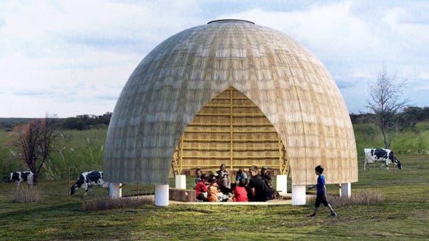El diseño de Daniel Giannoni es para un espacio educativo destinado a niños de hasta 5 años