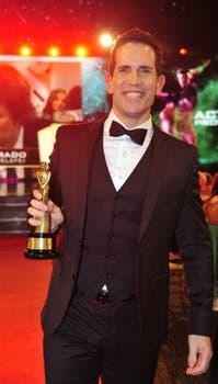 Diego Ramos, mejor actor de comedia. Foto: Archivo / Prensa Artear