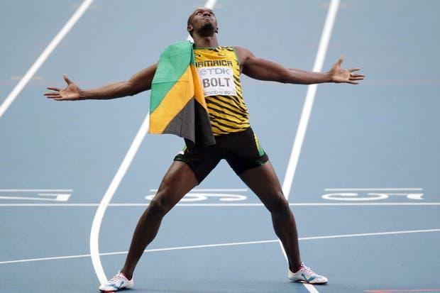 Usain Bolt, el único rey del atletismo