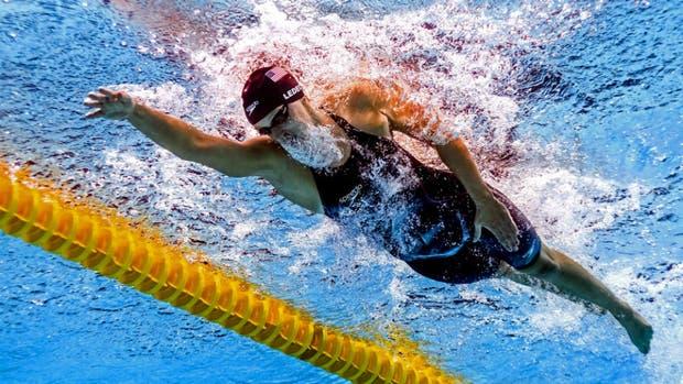 Katie Ledecky, la campeona contra la que nadie quiere competir: en Budapest dio otra muestra de su poderío