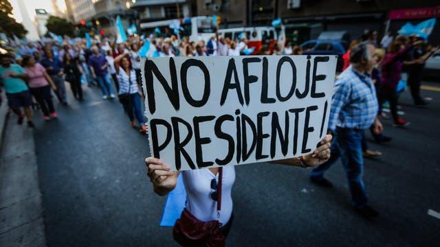 Macri destacó el apoyo manifestado en la marcha del 1 de abril