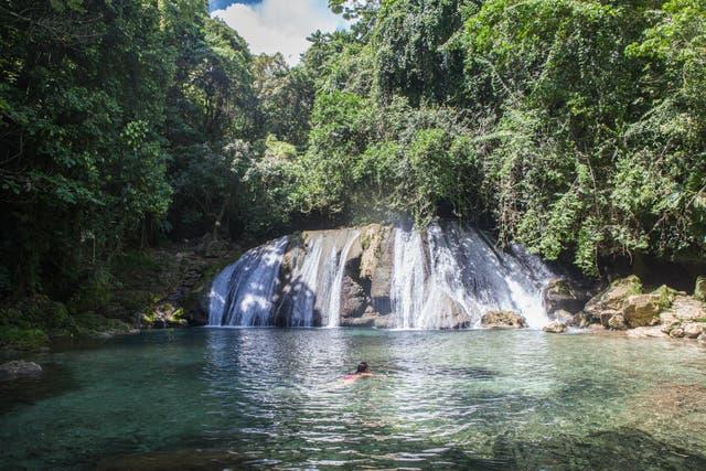 Reach Falls, Port Antonio. Foto: Sofia Lopez Mañan
