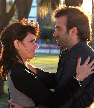 Loly y Andy, la gran pareja de Graduados. Foto: Prensa Telefé