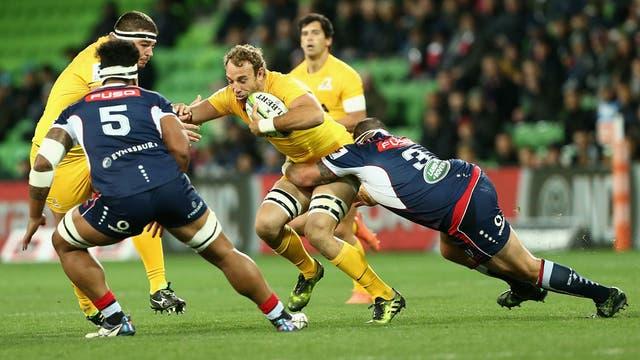 Super Rugby:Los Jaguares: vencieron a Rebels 32-29 en Australia