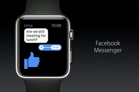Apple Watch tendrá la aplicación oficial de Apple Watch.