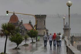 Más problemas en Mar del Plata por el temporal