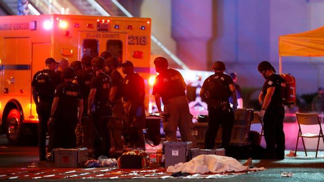 La fuerza policial describió al sospechoso como un hombre local que actuó solo