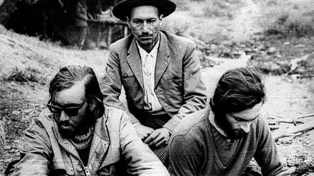 Nando Parrado, el arriero Sergio Catalán y Roberto Canessa