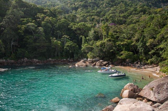 Las aguas trasparentes de Ilha Grande, en el estado de Rio de Janeiro