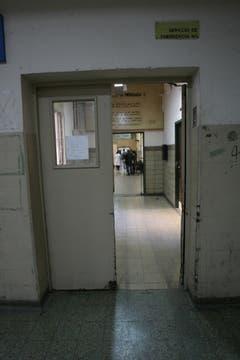 La puerta principal, donde comienza el recorrido. Foto: lanacion.com / Guadalupe Aizaga