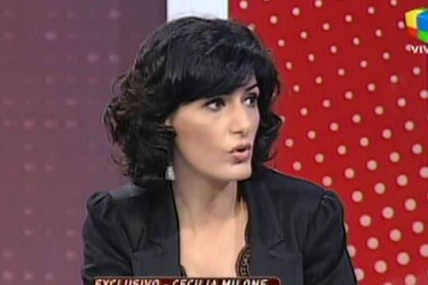 Cecilia Milone, en Intrusos