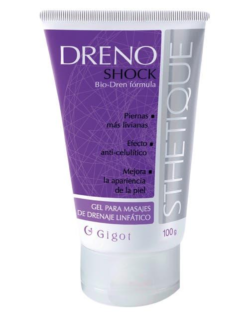 Dreno Shock: gel para masajes ($60, Gigot).