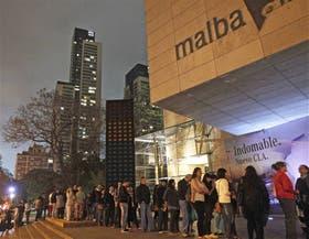 El Malba fue uno de los destinos preferidos, junto al Museo Nacional de Bellas Artes y el Planetario