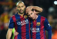 """Mascherano habló sobre el estado de ánimo de Messi tras los """"Panamá Papers"""""""