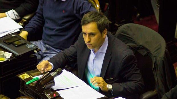 El diputado del FPV Juan Cabandié