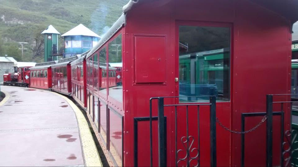 Inauguraron dos nuevos coches para el Tren del Fin del Mundo. Foto: Casa Rosada