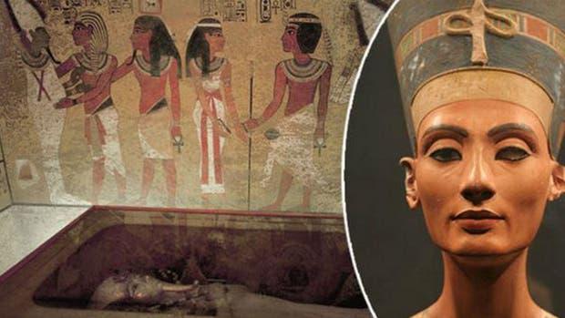 Los restos hallados podrían ser de la reina Nefertiti