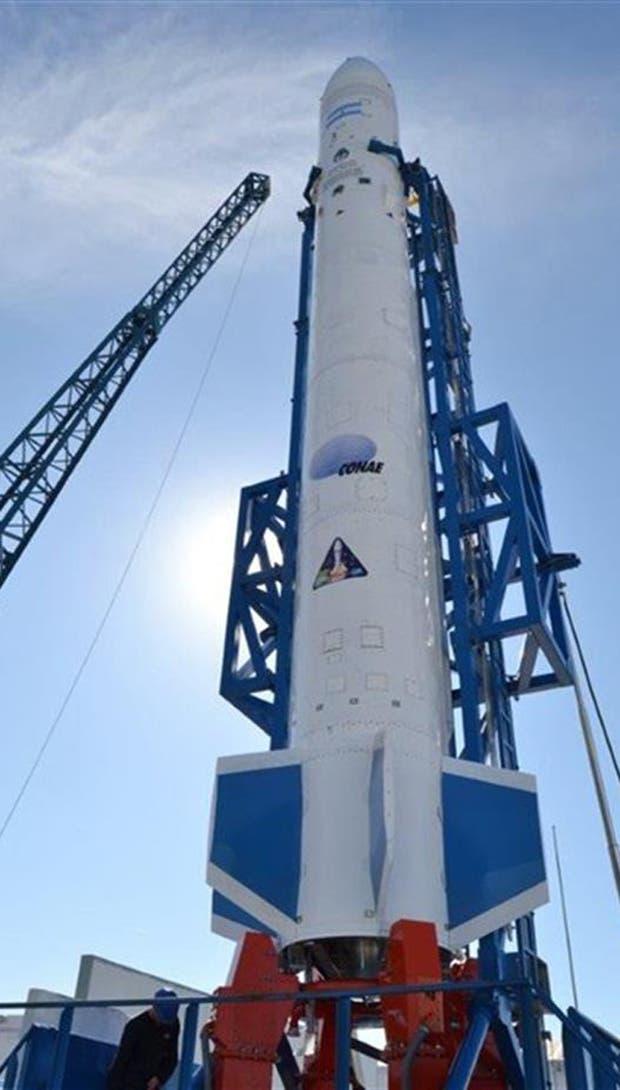 Entre julio y agosto se pondrá a prueba el lanzador que desarrolla la Conae