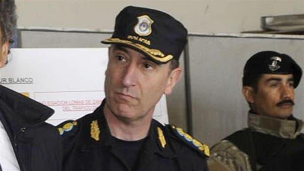 El jefe de la Policía Bonaerense, Pablo Bressi