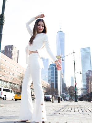 Tendencia blanco invierno: total looks