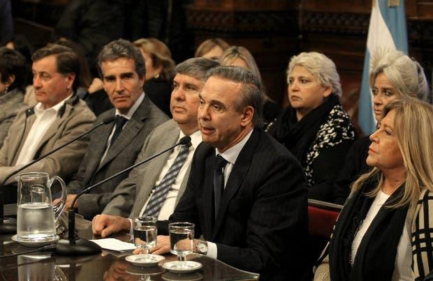 El senador Miguel Angel Pichetto fijó la postura de la bancada justicialista