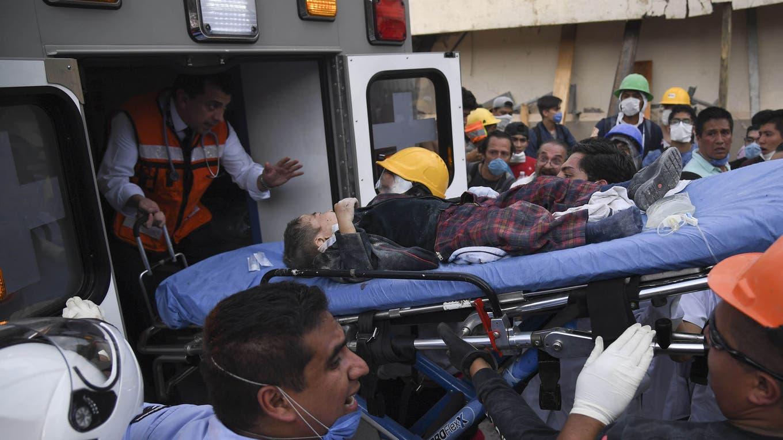 Terremoto en México: intentan lo imposible para rescatar a seis niños con vida bajo las ruinas DPA