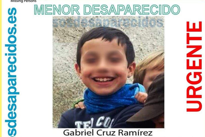 Gabriel Cruz Ramírez fue estrangulado