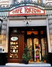 El mítico café Tortoni