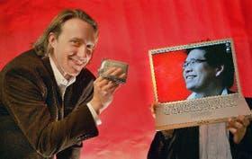 Chad Hurley y Steven Chen, fundadores del sitio de videos You Tube, comprado por Google