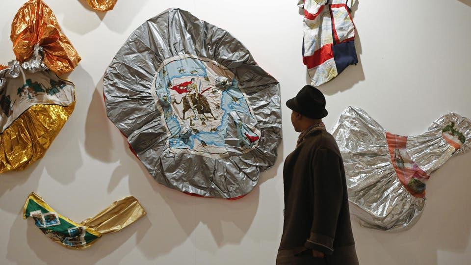 Souvenirs 2002, de Ariadna Pastorini, en el stand de la Galería Document Art