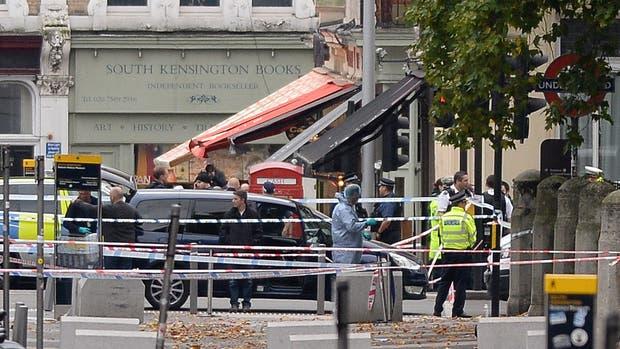 Un accidente de tránsito hizo revivir el pánico en Londres