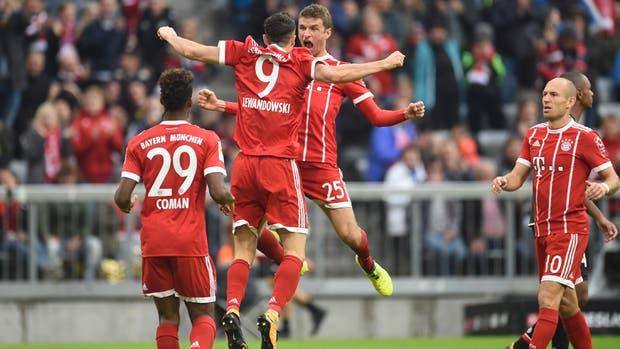 Bayern Munich goleó al Mainz 05