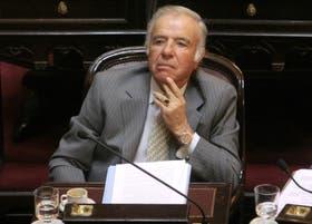 Menem fue condenado por el contrabando de armas y está imputado por la causa de Río Tercero