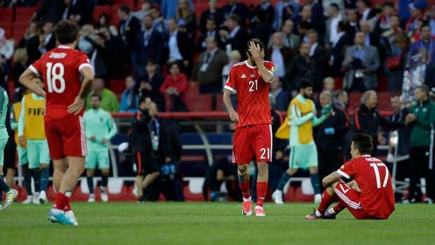 Rusia perdió con Portugal en su Copa Confederaciones